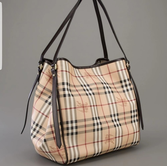 Burberry Handbags - Authentic Burberry Haymarket Check Canterbury tote 8a54f40331